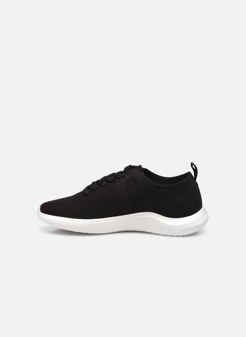 Sneakers Cloudsteppers by Clarks Nova Glint Nero immagine frontale