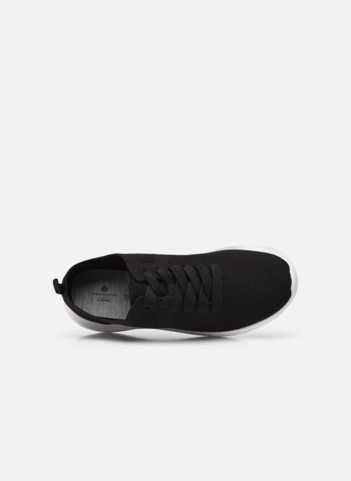 Sneakers Cloudsteppers by Clarks Nova Glint Nero immagine sinistra