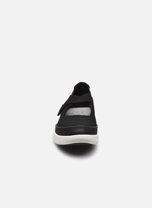 Sneaker Cloudsteppers by Clarks Adella West schwarz schuhe getragen