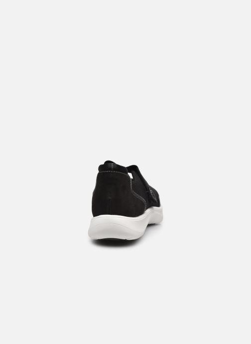 Sneaker Cloudsteppers by Clarks Adella West schwarz ansicht von rechts