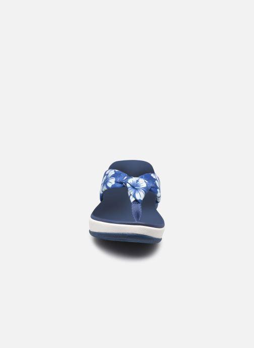 Zehensandalen Cloudsteppers by Clarks Arla Glison blau schuhe getragen