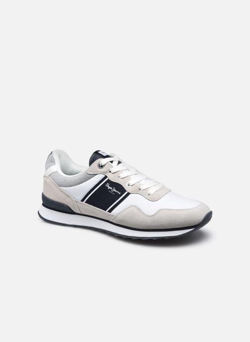 Baskets Pepe jeans CROSS 4 SAILOR Blanc vue détail/paire