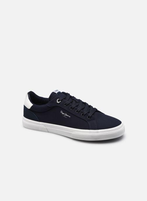 Baskets Pepe jeans KENTON CLASSIC TWILL Bleu vue détail/paire