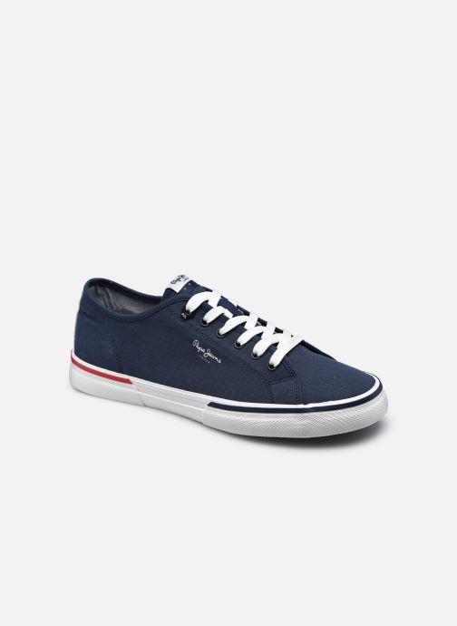 Baskets Pepe jeans KENTON SMART Bleu vue détail/paire