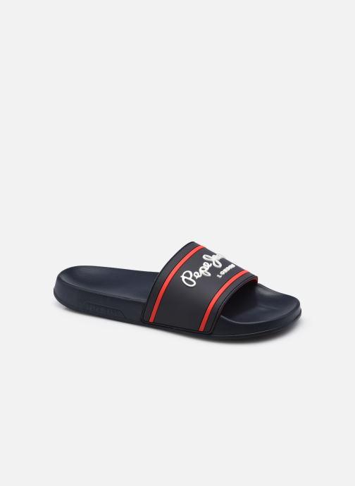 Sandales et nu-pieds Pepe jeans SLIDER BASIC 0.2 Bleu vue détail/paire