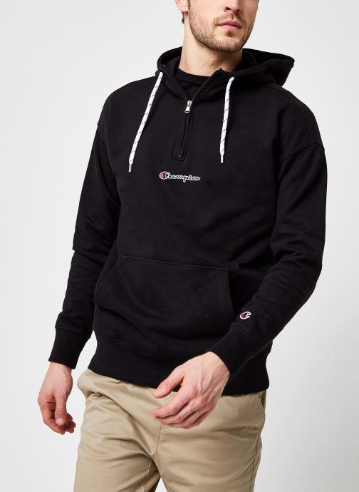 Half Zip Hooded Sweatshirt M
