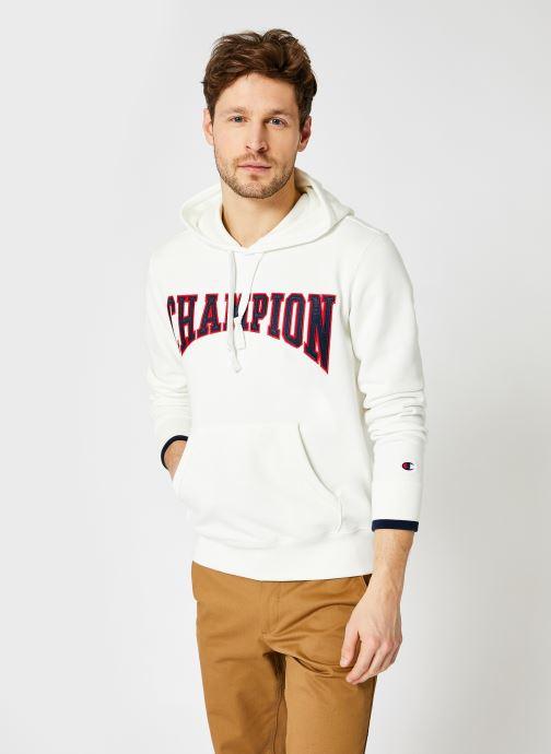 Ropa Champion Sweatshirt hoodie - M Blanco vista de detalle / par