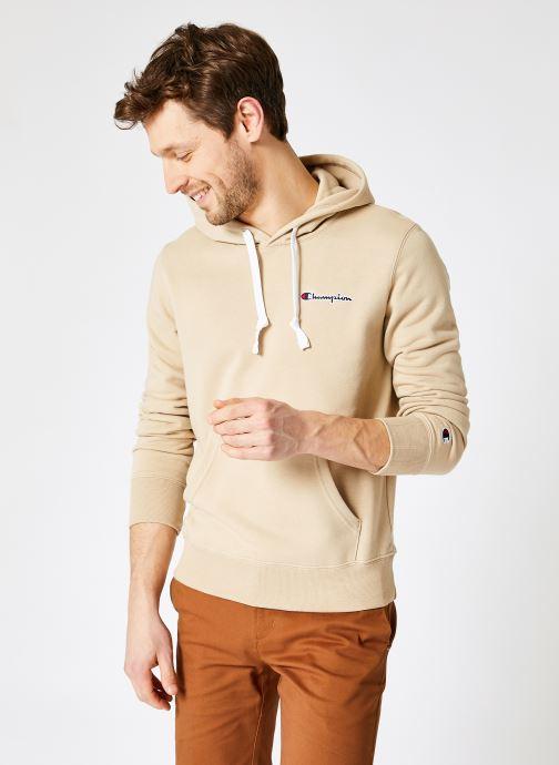 Ropa Champion Sweatshirt hoodie - M Marrón vista de detalle / par