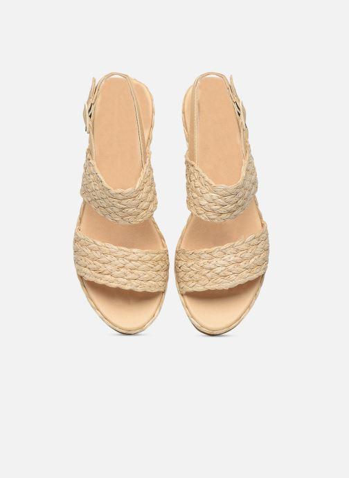 Sandali e scarpe aperte Made by SARENZA Rustic Beach Sandales à talons #7 Beige modello indossato