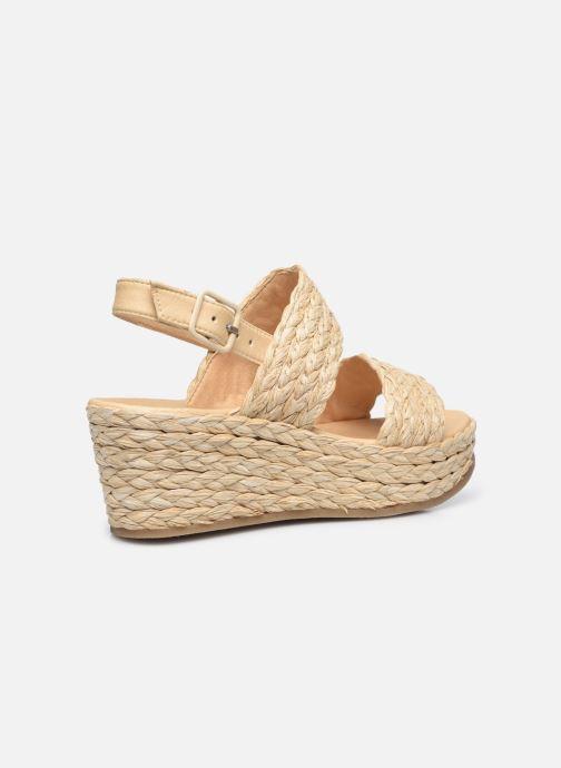 Sandalen Made by SARENZA Rustic Beach Sandales à talons #7 Beige voorkant