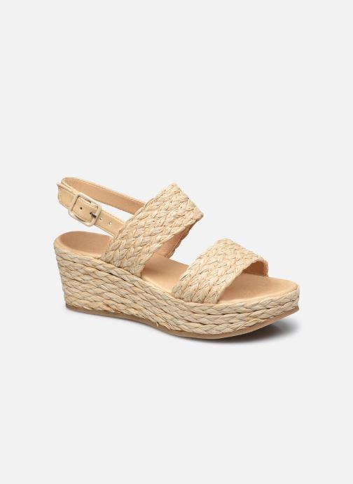 Sandali e scarpe aperte Made by SARENZA Rustic Beach Sandales à talons #7 Beige immagine destra
