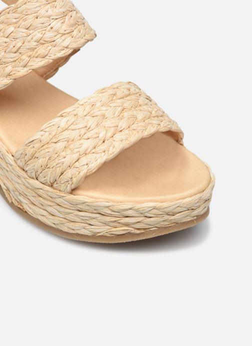 Sandali e scarpe aperte Made by SARENZA Rustic Beach Sandales à talons #7 Beige immagine sinistra