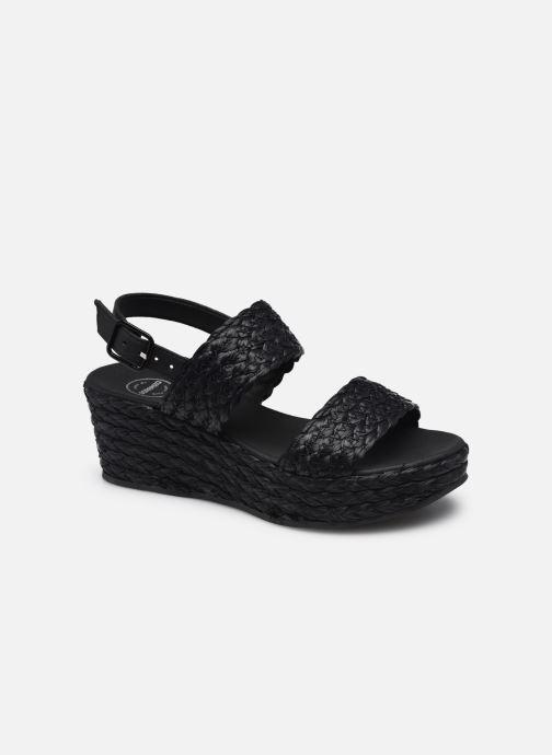 Sandali e scarpe aperte Made by SARENZA Rustic Beach Sandales à talons #7 Nero immagine destra