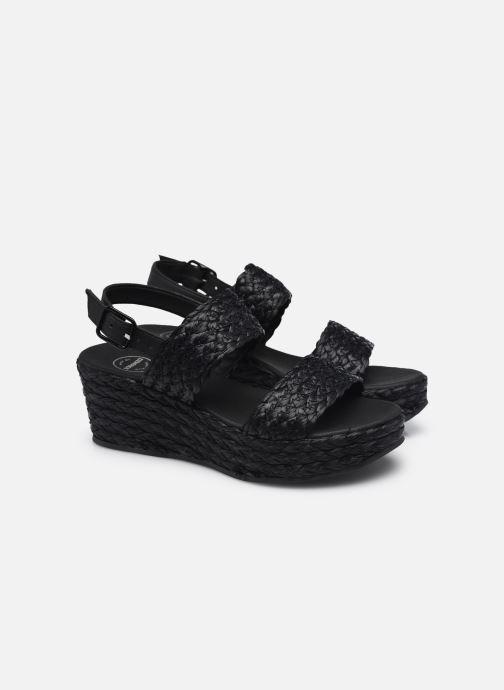 Sandali e scarpe aperte Made by SARENZA Rustic Beach Sandales à talons #7 Nero immagine posteriore