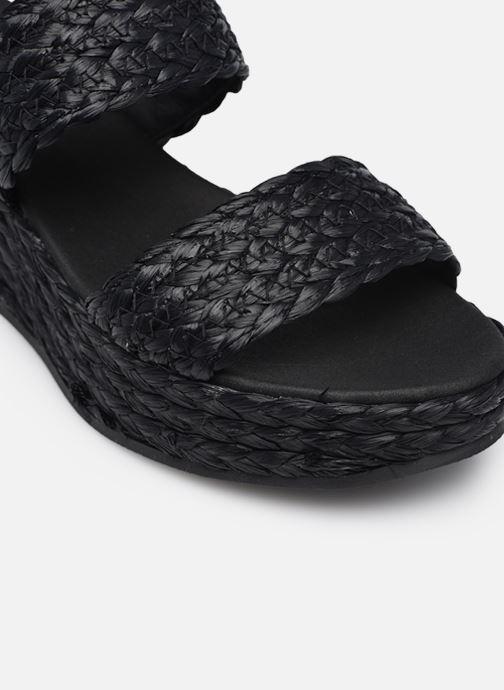 Sandali e scarpe aperte Made by SARENZA Rustic Beach Sandales à talons #7 Nero immagine sinistra