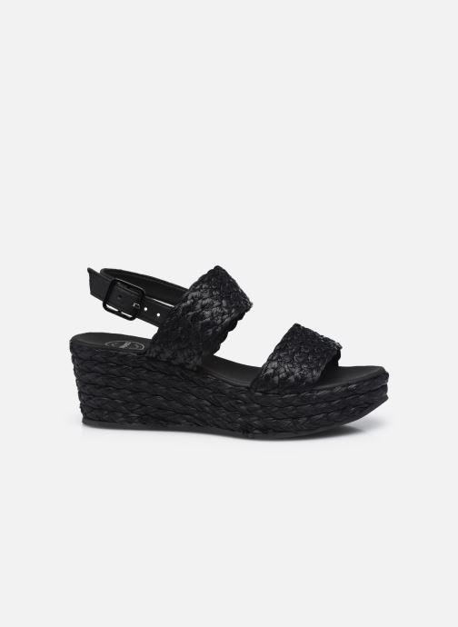 Sandales et nu-pieds Made by SARENZA Rustic Beach Sandales à talons #7 Noir vue détail/paire