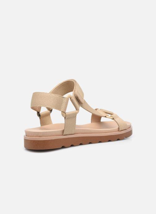 Sandalen Made by SARENZA Minimal Summer Sandales plates #1 beige ansicht von vorne