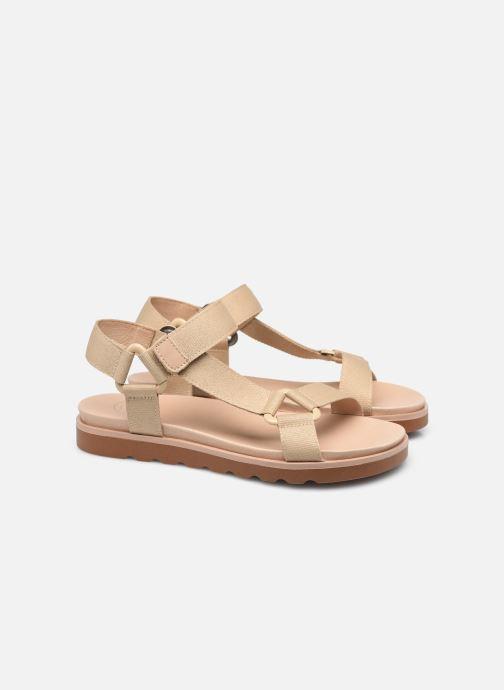 Sandalen Made by SARENZA Minimal Summer Sandales plates #1 beige ansicht von hinten