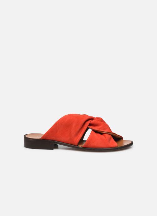 Clogs & Pantoletten Made by SARENZA Minimal Summer Sandales plates #2 rot detaillierte ansicht/modell