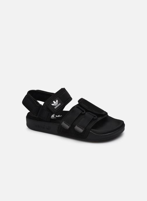 Sandaler adidas originals New Adilette Sandal W Sort detaljeret billede af skoene