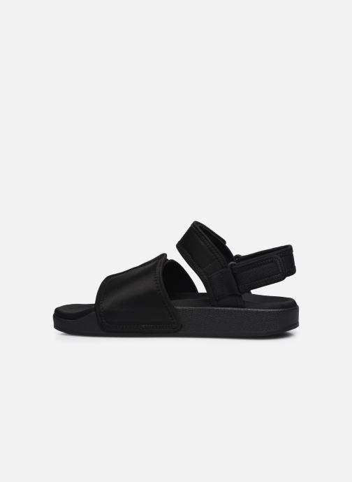 Sandaler adidas originals New Adilette Sandal M Sort se forfra