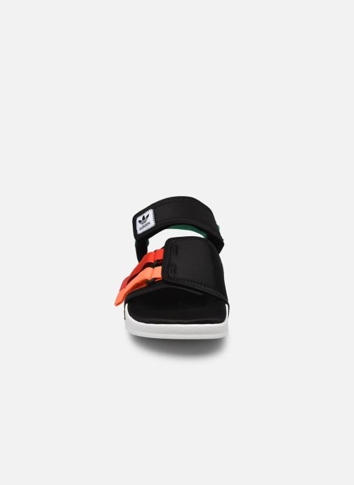Sandalen adidas originals New Adilette Sandal M schwarz schuhe getragen