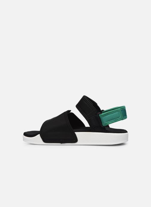 Sandalen adidas originals New Adilette Sandal M schwarz ansicht von vorne