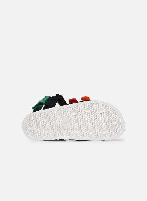 Sandalen adidas originals New Adilette Sandal M schwarz ansicht von oben