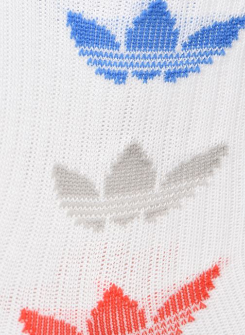 Calze e collant adidas originals TRI THN RBD CRW Bianco modello indossato