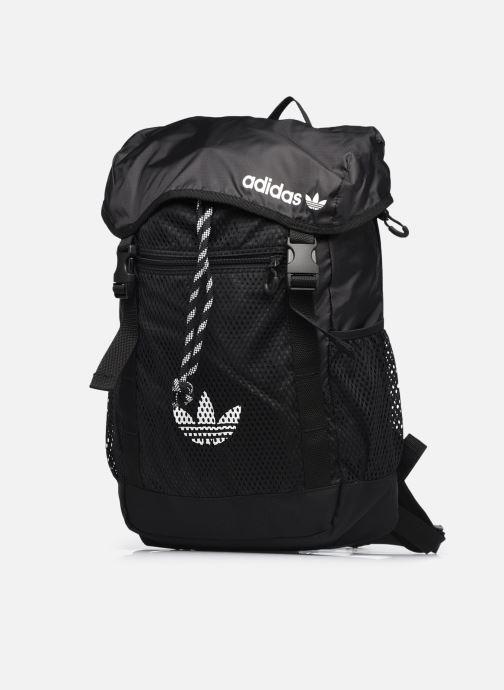 Rucksäcke adidas originals ADV TOPLOADER S schwarz schuhe getragen