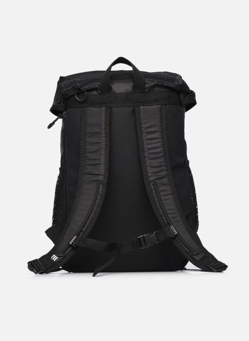Rucksäcke adidas originals ADV TOPLOADER S schwarz ansicht von vorne