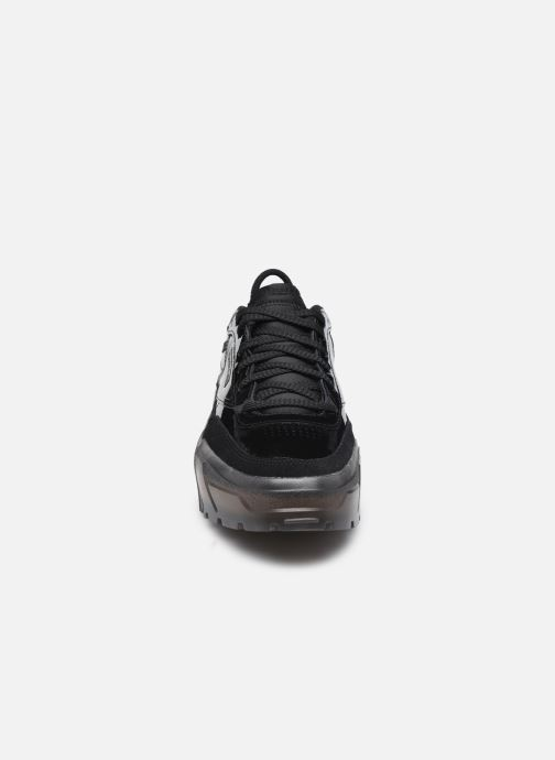 Sneaker Reebok Club C Cardi W schwarz schuhe getragen