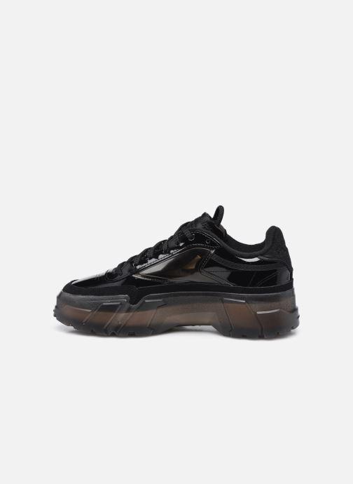 Sneaker Reebok Club C Cardi W schwarz ansicht von vorne