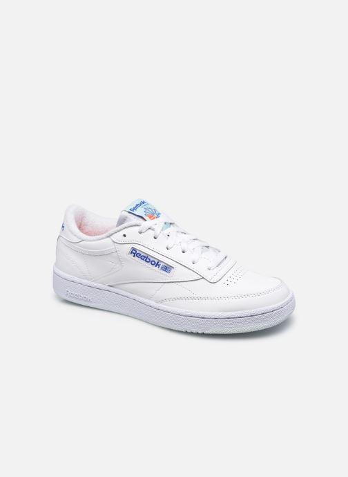 Sneakers Reebok Club C 85 M Wit detail