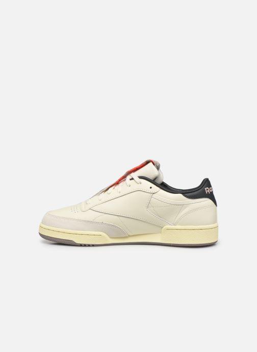 Sneaker Reebok Club C 85 M weiß ansicht von vorne
