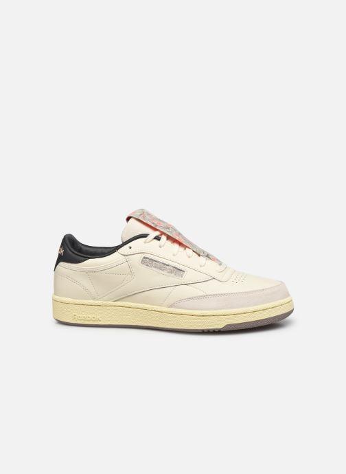 Sneaker Reebok Club C 85 M weiß ansicht von hinten