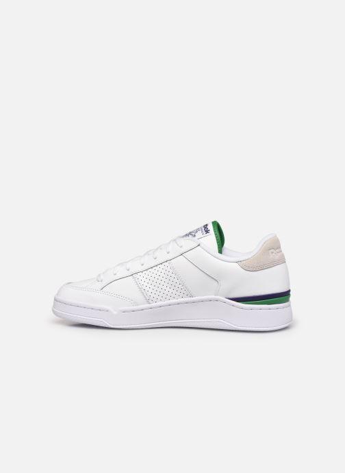 Sneaker Reebok Ad Court M weiß ansicht von vorne
