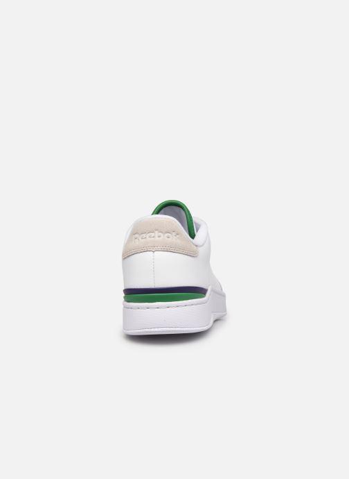 Sneaker Reebok Ad Court M weiß ansicht von rechts