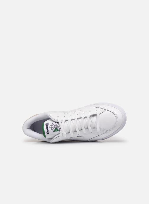 Sneaker Reebok Ad Court M weiß ansicht von links