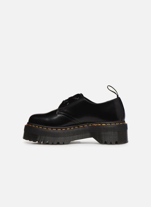 Chaussures à lacets Dr. Martens Holly Black Buttero Noir vue face