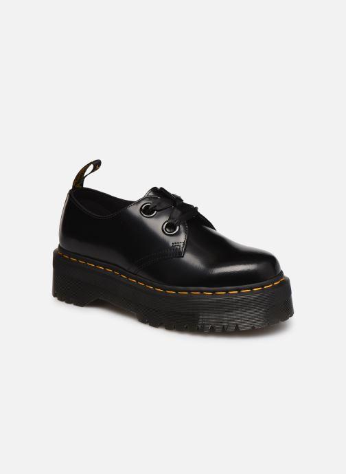 Chaussures à lacets Dr. Martens Holly Black Buttero Noir vue détail/paire