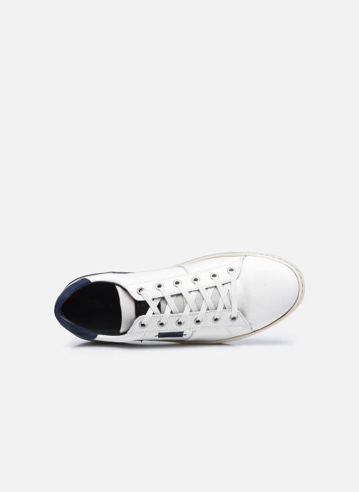 Sneaker Bullboxer 887K20887AWHNASU00 weiß ansicht von links