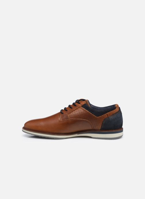Chaussures à lacets Bullboxer 633K26865ACGNASU00 Marron vue face
