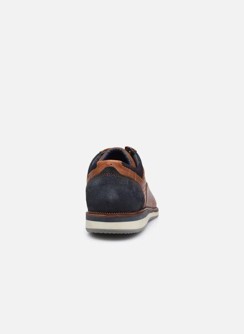 Zapatos con cordones Bullboxer 633K26865ACGNASU00 Marrón vista lateral derecha