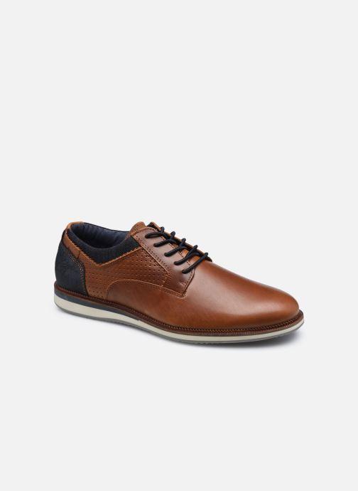 Chaussures à lacets Bullboxer 633K26865ACGNASU00 Marron vue détail/paire