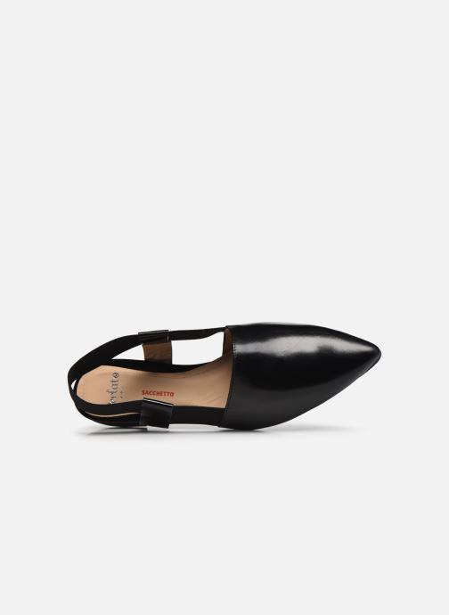 Ballerina's Perlato 11003 Zwart links