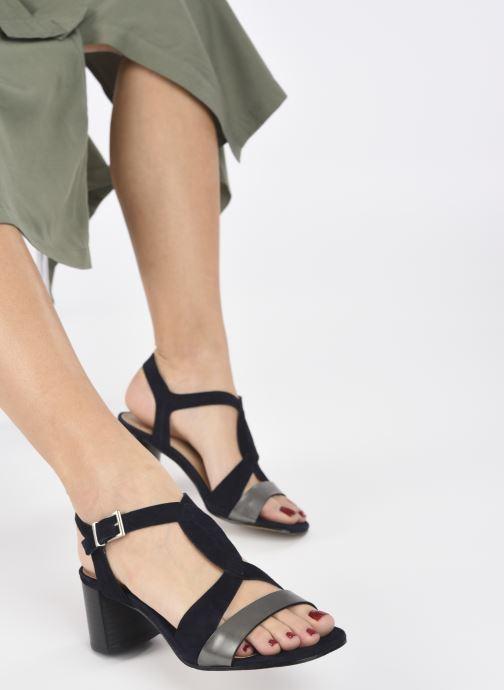 Sandalen Perlato 11804 Zwart onder