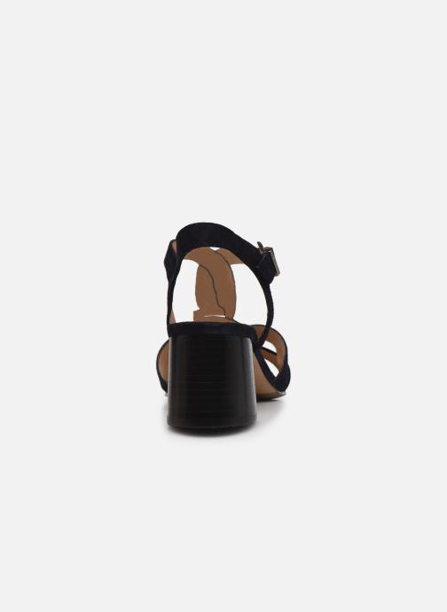 Sandalen Perlato 11804 Zwart rechts