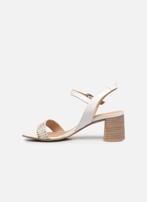 Sandales et nu-pieds Perlato 11806 Blanc vue face