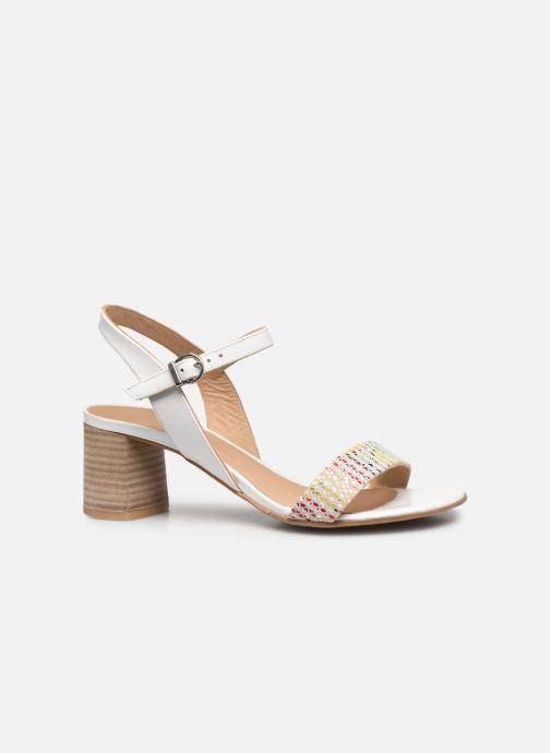 Sandali e scarpe aperte Perlato 11806 Bianco immagine posteriore